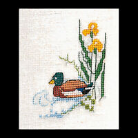Black Welsh Mountain Cross Stitch Kit Thea Gouverneur 36 Comte de lin libre p/&p