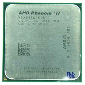 AMD Phenom II X4 925 2.8GHz Quad-Core (HDX925WFK4DGI) Processor w/Grease