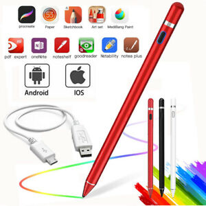 Pencil Stylus For iPad iPhone Samsung Galaxy Tablet Phone Pen Touch Screen