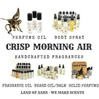 CRISP MORNING AIR Perfume Oil - Body Spray - Fragrance Oil -  Fresh Clean Scent
