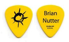 Keith Urban Brian Nutter Yellow Guitar Pick 2009 Tour