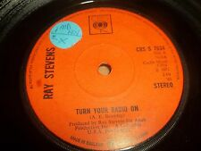 """RAY STEVENS """" TURN YOUR RADIO ON """" 7"""" SINGLE EXCELLENT 1971"""
