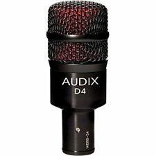 Audix*D4*Dynamic Drum Instrument Microphone NEW FREE 2DAY SHIPPING