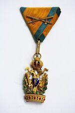 Österreich, KuK Orden Ritterkreuz Eiserne Krone 3te Klasse mit KD ,Wunderbar