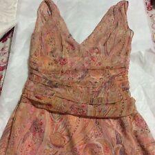 New ELIE TAHARI Silk Chiffon Dress - 4