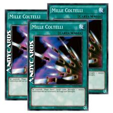 3x MILLE COLTELLI • (Thousand Knives) • Comune • YGLD ITB19 • Yugioh! ANDYCARDS