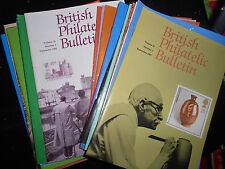 POST OFFICE PHILATELIC BULLETINS - VOLUMES 25 & 26 (SEPT'87 - AUG'89)