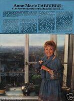 Coupure de presse Clipping 1978 Anne Marie Carrière  (1 page)