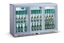 AG Flaschenkühlschrank Kühlschrank Edelstahl 330 Liter 1350 x 520 x 900 mm