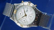 Vintage Divers Zeno Automatic Chronograph Watch Valjoux 7750 Watch NOS 1980S
