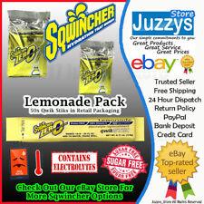FREE POSTAGE Sqwincher® Qwik Stiks 50x Bag - Lemonade Sugar Free