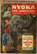NYOKA THE JUNGLE GIRL #47 (FAWCETT)  SEPT. 1950 - VG+  (52 pages)
