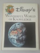 Disney's Wonderful World of Knowledge #13 The Continents 1973 HB Book