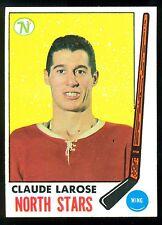 1969 70 TOPPS HOCKEY 126 CLAUDE LAROSE NM MINNESOTA NORTH STARS CARD
