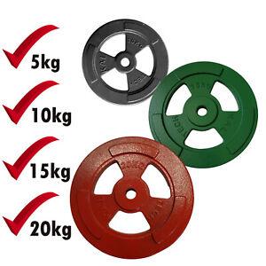 Hantelscheibe 5 10 15 20kg Guss Hantelscheiben 30mm Gewichtscheiben Gewichte