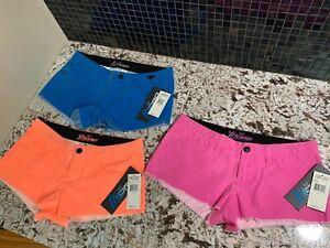 Fox Board Race Juniors' Syren Hydro Women Quick-Dry Boardie Shorts - Sz 0 and 1
