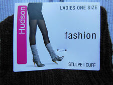 Hudson Leggings/Cuff Knitted Warmers With Braid Pattern One Size Various Colors