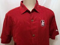 NWT Tommy Bahama Stanford Cardinal Red Hawaiian Sz Large NCAA College Sports