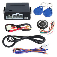 Easyguard RFID car alarm system 2 transponders immobilizer push button start