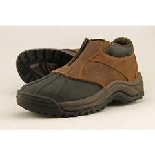 Propet Blizzard Ankle Zip Men US 8.5 Brown Snow Boot Blemish  12278