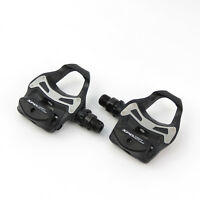 Shimano PD-R550 SPD-SL Road Bike Bicycle Pedals + SM-SH11 Cleats - Black