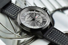NEW!! ARAGON Caprice Pilot 48mm Gray Dial Day & Date AUTOMATIC Watch A189GRY