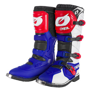 ONeal Motocross Boots Rider Pro MX Off Road Dirt Bike Enduro Quad Blue Red White