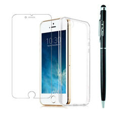 100% Genuine Tempered Glass Screen Protector Film For Apple iPhone 5 5S SE