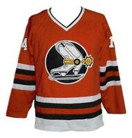 Any Name Number Size Denver Spurs Custom Hockey Jersey Red Backstrom