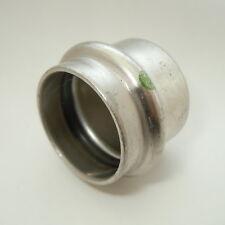 Viega Inox Verschlusskappe 15mm Edelstahl Fitting Kappe #