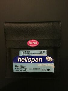 Brand new Heliopan Circular Pol. High Transm. SH-PMC Slim 95 mm Filter