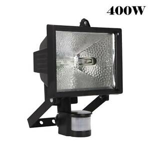 GARDEN SECURITY LIGHT WITH MOTION SENSOR 400W HALOGEN FLOODLIGHT