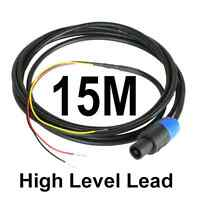 15M Neutrik Speakon High Level Lead for REL & MJ Subwoofer