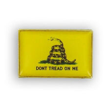 Wholesale Lot of 6 Gadsden Tea Party Lapel Pin Dont Tread on Me Pin