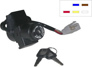 736931 Ignition Switch for Kawasaki GPZ500S, ZZR600/1100/1200 (see description)