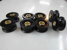 Case 580-c Rear Window Rollers F43589 F43832