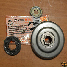 "Genuine STIHL Llanta piñón Kit Ms210 Ms211 Ms230 Ms250 1123 007 1030 3/8 ""p'"
