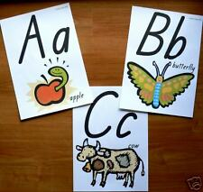 ALPHABET WALL FRIEZE educational  teacher resource ABC