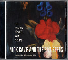 NICK CAVE no more shall we part CD-Rom RARE PROMO ONLY