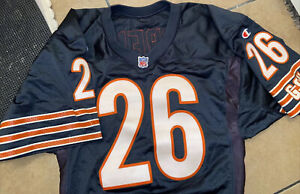 NFL Chicago Bears Authentic Champion PRO LINE Cut Football Jersey #26 Moreno