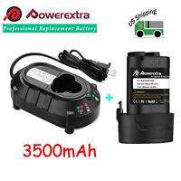 10.8V 3.5Ah Li-ion Battery & Charger for Makita BL1013 BL1014 DF030 TD090D 12V