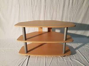 33048B4 / TV Tisch Phonotisch Fernsehertisch MDF Buche