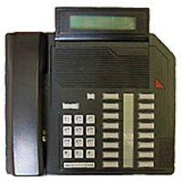 1 Refurbished Black Nortel M2616D Phone, Nortthern Telecom Meridian Options