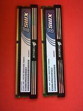 Corsair 4GB(2x2gb) XMS DDR3 DIMM RAM Memory CMX4GX3M2A1600C9 #23