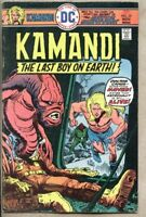 Kamandi The Last Boy On Earth #35-1975 fn- 5.5 DC Comics Jack Kirby Joe Kubert