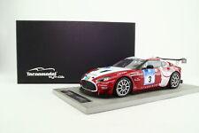 Tecnomodel 1:18; Aston Martin V12 Zagato; 2011 24h Nurburgring; Excellent Boxed