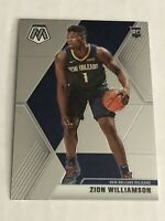 ZION WILLIAMSON ROOKIE 2019-20 PANINI MOSAIC - NEW ORLEANS PELICANS #209