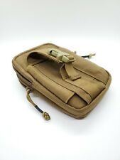 Onetigris Compact Molle Edc Pouch Utility Pouch (Coyote Brown)