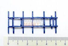 2 x ALBEDO Ersatzteil Chassis Rahmen Träger für Pritsche blau 1:87 H0 - 2435