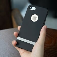 Rock Royce Series Slim Armor cover shell Brand Back Case For iPhone 5/5S/SE GREY